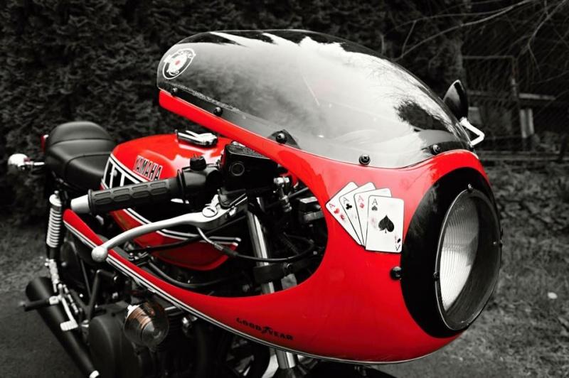 Cafe racer Yamaha xs Yam210