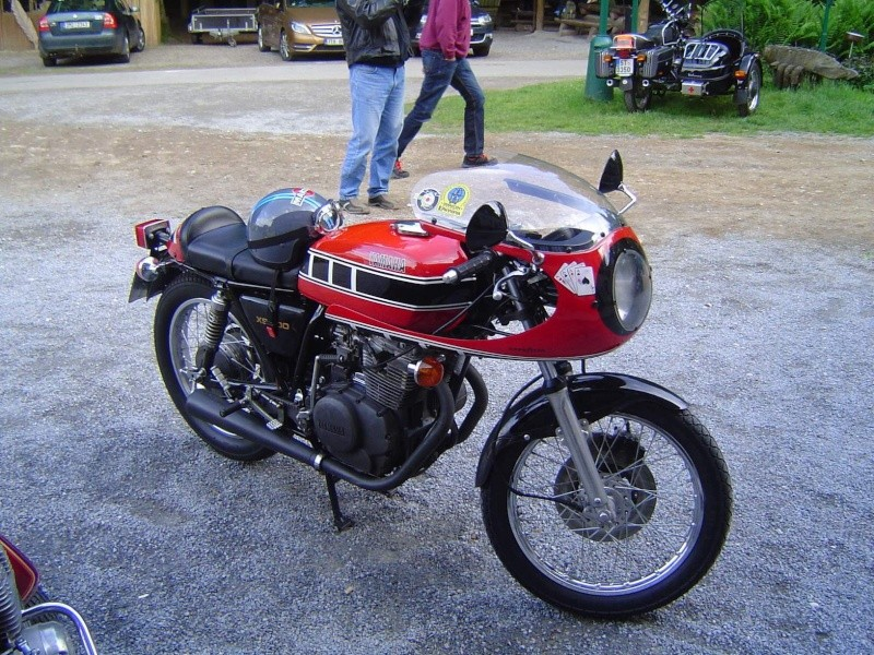 Cafe racer Yamaha xs Yam310