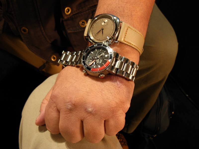 vacheron - COMPTE RENDU salon belles montres 2009 - Page 12 Dscn0572