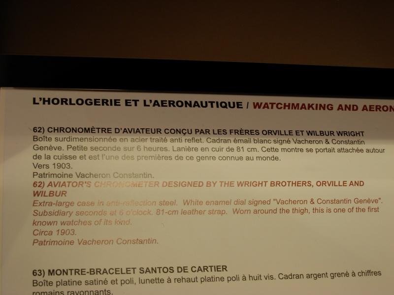 vacheron - COMPTE RENDU salon belles montres 2009 - Page 12 Dscn1139