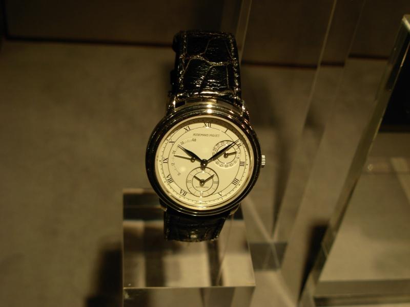 vacheron - COMPTE RENDU salon belles montres 2009 - Page 12 Dscn1148