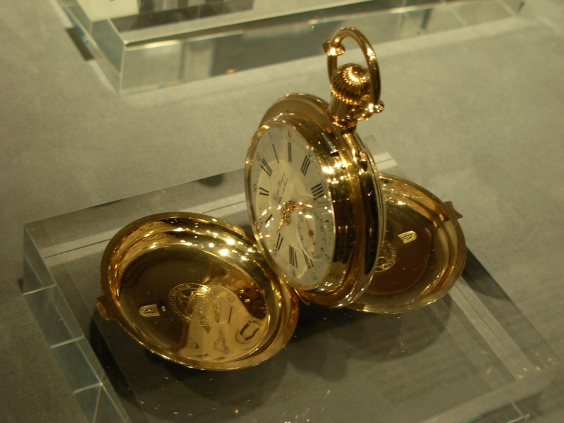 vacheron - COMPTE RENDU salon belles montres 2009 - Page 12 Dscn1152