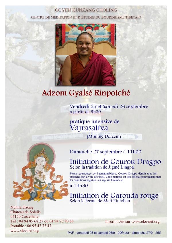 Adzom Rinpoché à Nyima Dzong Adzom_10