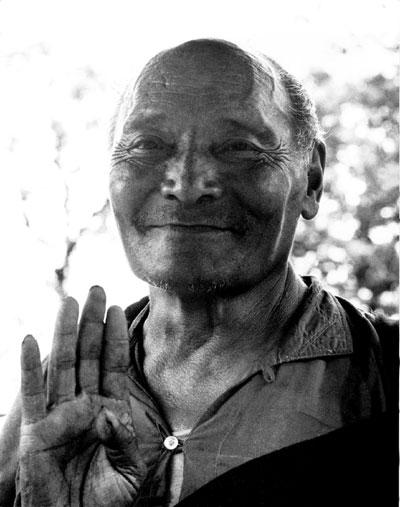 Le très Vénérable Kangyour Rinpoché Kanjur10