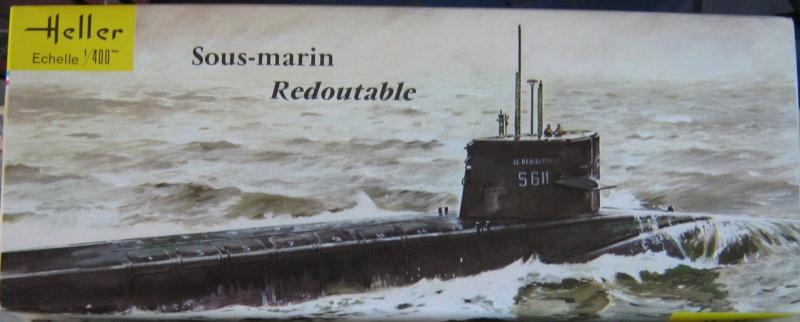 Sous-marin nucléaire lanceur d engins SNLE REDOUTABLE 1/400ème Réf 81075 10_red10