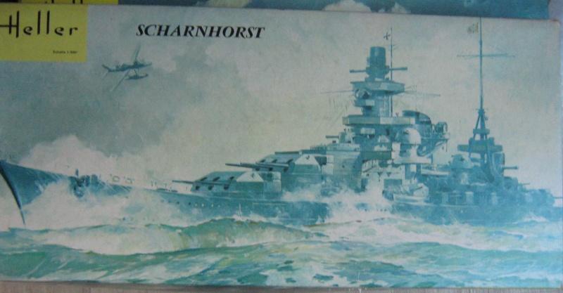 Croiseur de bataille SCHARNHORST 1/400ème Réf L 1035 17_sch10