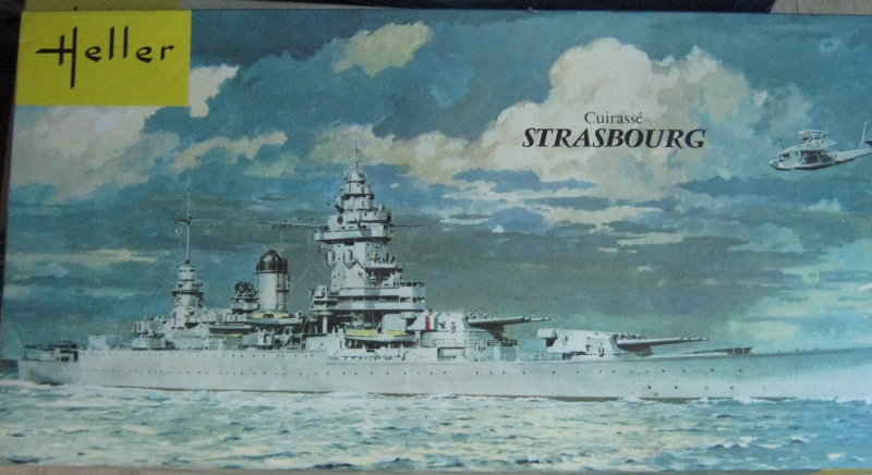 Cuirassé STRASBOURG 1/400ème Réf L 030 6_stra10