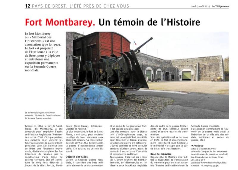 Fort Montbarey - Mémorial des Finistèriens 11817010