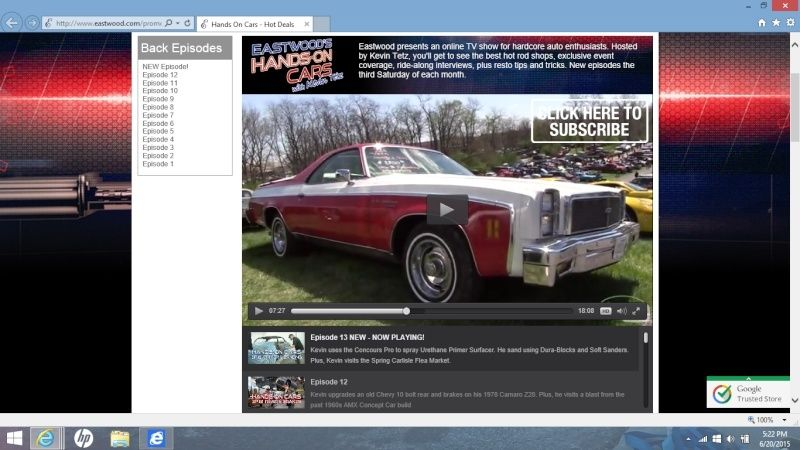 Eastwood - Hands on Cars - Episode 13 - Nice 76 Elky Shown At Spring Carlisle Swap Meet Screen10