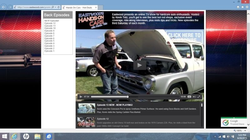 Eastwood - Hands on Cars - Episode 13 - Nice 76 Elky Shown At Spring Carlisle Swap Meet Screen11