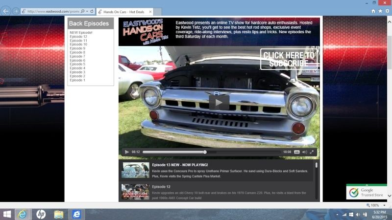 Eastwood - Hands on Cars - Episode 13 - Nice 76 Elky Shown At Spring Carlisle Swap Meet Screen12