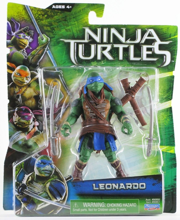 TEENAGE MUTANT NINJA TURTLES MOVIE (Playmates) 2014 0113