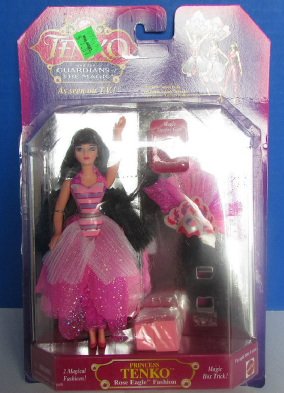 TENKO AND THE GUARDIANS OF THE MAGIC (Mattel) 1995 0212