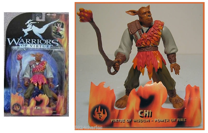 MAGIC WARRIORS - WARRIORS OF VIRTUE (Play'em toys) 1997 0310