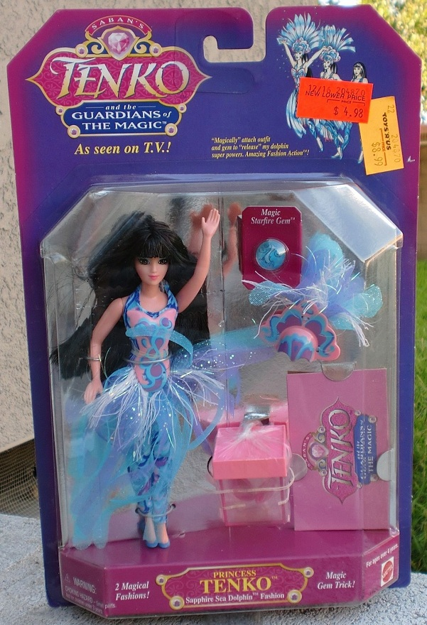 TENKO AND THE GUARDIANS OF THE MAGIC (Mattel) 1995 0412