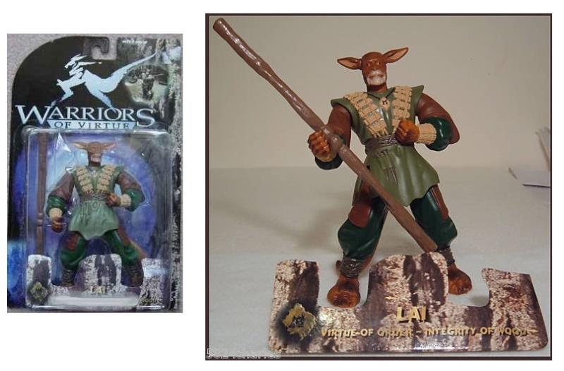 MAGIC WARRIORS - WARRIORS OF VIRTUE (Play'em toys) 1997 0510