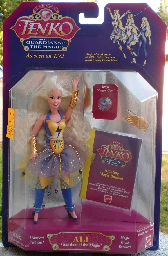 TENKO AND THE GUARDIANS OF THE MAGIC (Mattel) 1995 0711