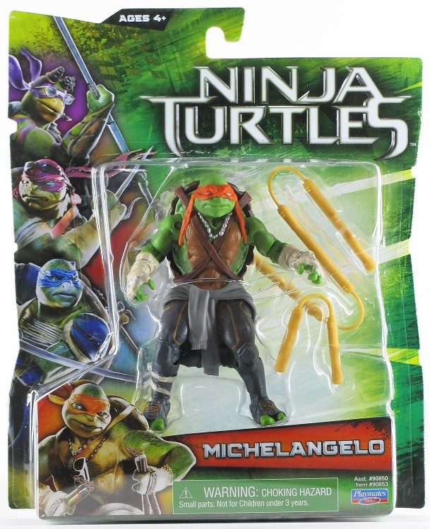 TEENAGE MUTANT NINJA TURTLES MOVIE (Playmates) 2014 0712