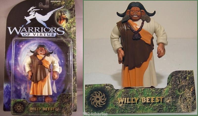MAGIC WARRIORS - WARRIORS OF VIRTUE (Play'em toys) 1997 1210