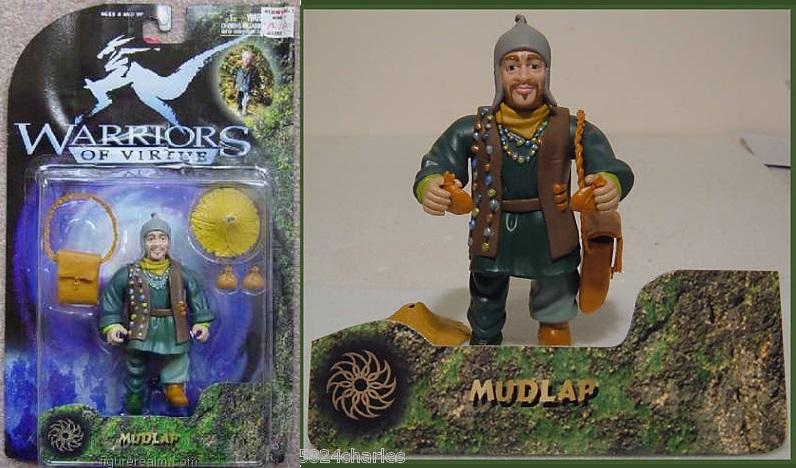 MAGIC WARRIORS - WARRIORS OF VIRTUE (Play'em toys) 1997 1610