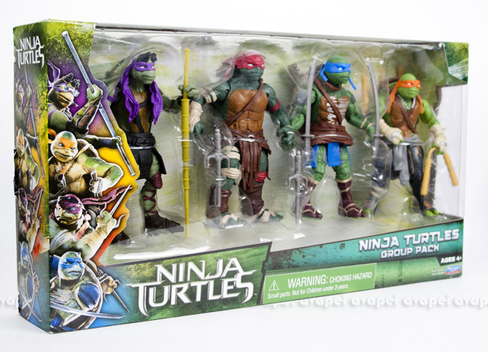 TEENAGE MUTANT NINJA TURTLES MOVIE (Playmates) 2014 19a10