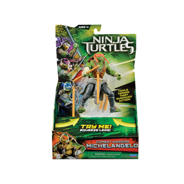 TEENAGE MUTANT NINJA TURTLES MOVIE (Playmates) 2014 2610