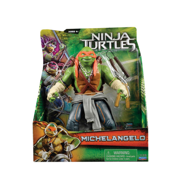 TEENAGE MUTANT NINJA TURTLES MOVIE (Playmates) 2014 3410