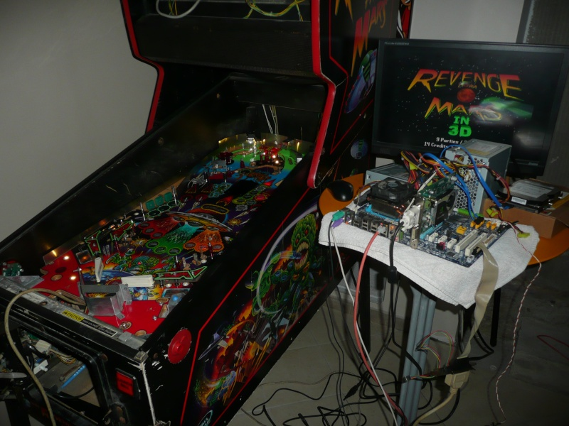 Projet : Restauration Pinball 2000 Revenge From Mars [TERMINE] - Page 8 P1140010