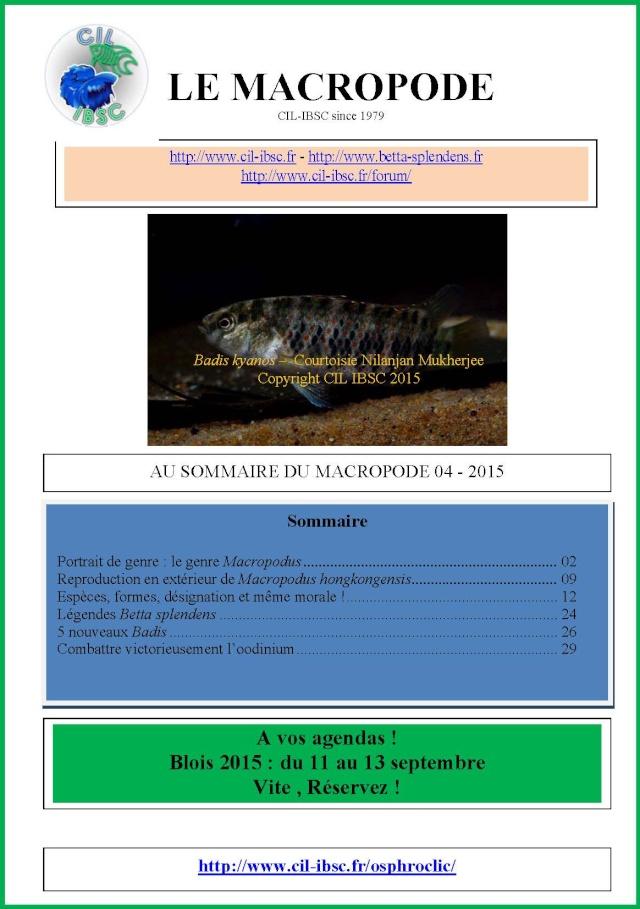 Sommaires revue du Macropode. - Page 2 2015-012