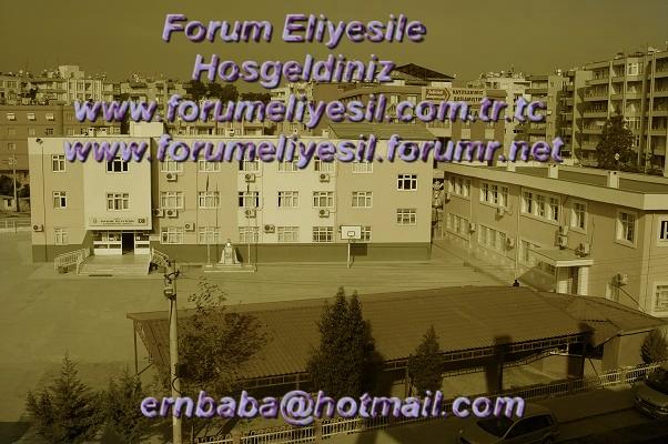 Tarsus Sadık Eliyesil Forum