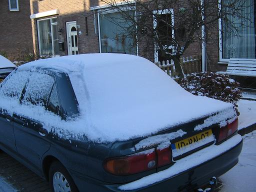 la neige en Holland Mestir15