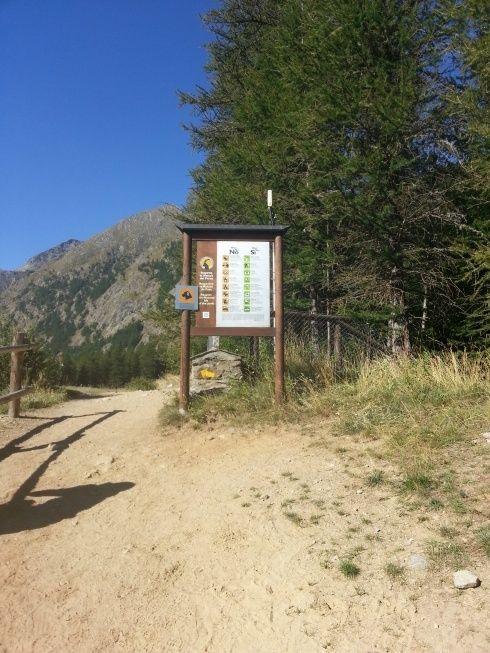 Jardin botanique alpin Paradisia, Cogne, Vallée d'Aoste (IT) 20150812