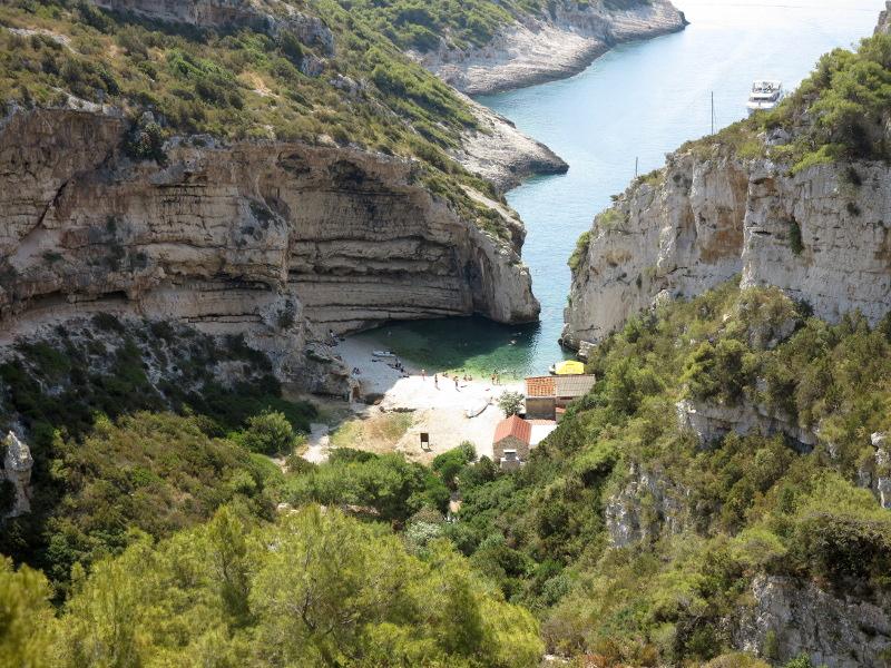 """Plongée """"vacances"""", ile de Vis, Croatie Balkan11"""