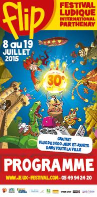 FLIP 2015 (Festival Ludique International de Parthenay) Couver10