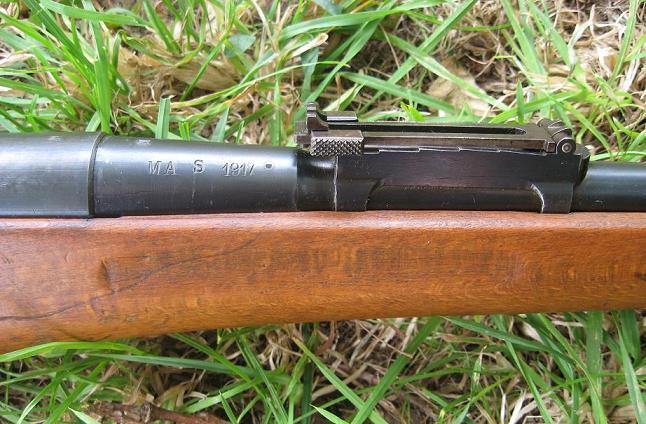 Berthier 1907-15 de 1917 modifié N - Dossier photo. 0715-810