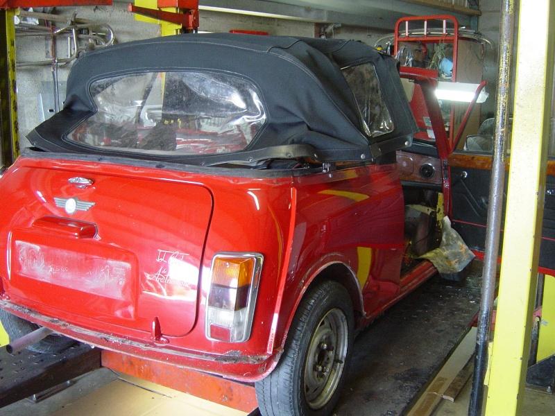 Resto Mini Cooper 92 Arc-de-Triomphe. Par le garage rcaustin. Dsc08425