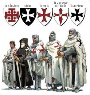 Maître Templier 13ème siècle Ordres10