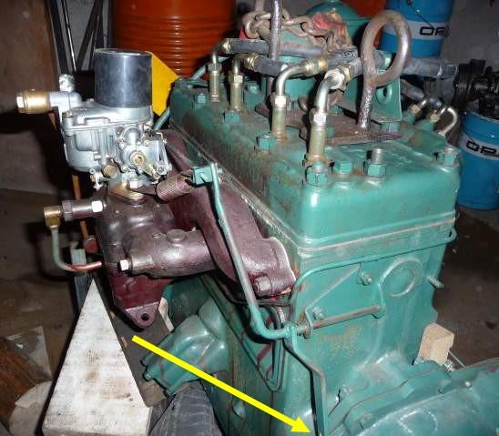 Dépose du moteur GO-DEVIL Comman11