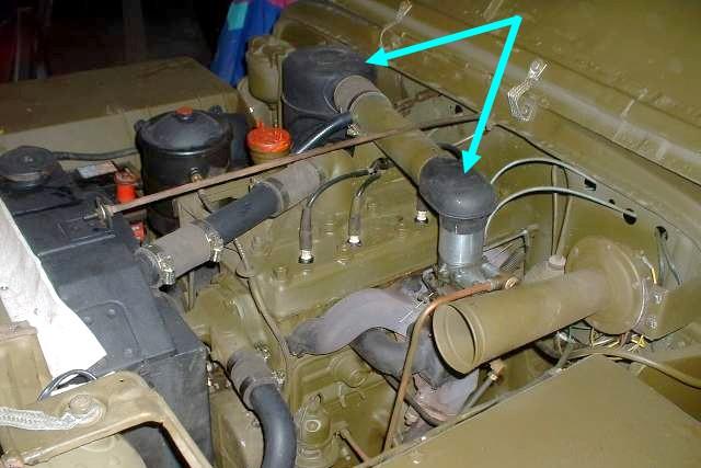 Dépose du moteur GO-DEVIL Filtre10