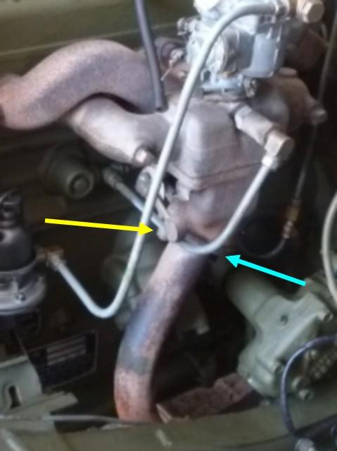 Dépose du moteur GO-DEVIL Fixati10