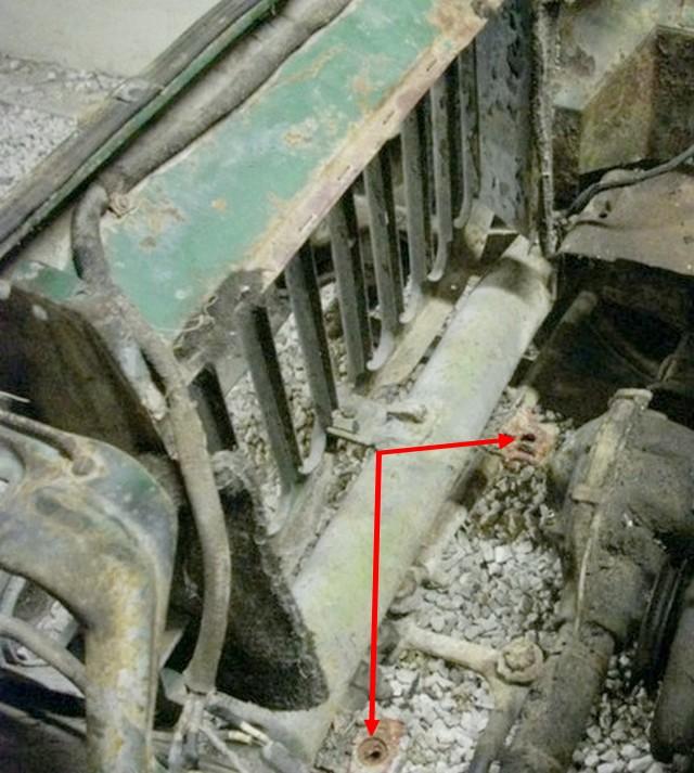 Dépose du moteur GO-DEVIL Suppor10