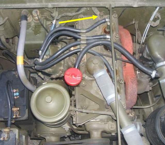 Dépose du moteur GO-DEVIL Tresse10