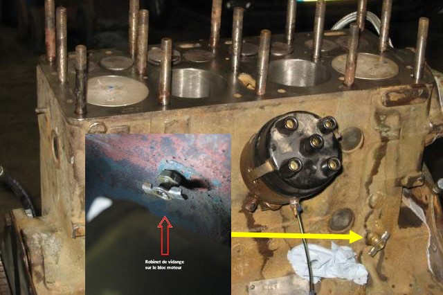 Dépose du moteur GO-DEVIL Vidang10