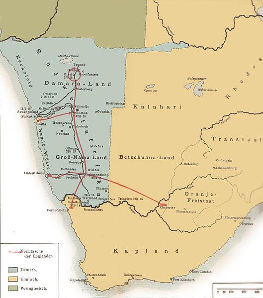 Les colonies allemandes : DEUTSCH SÜD-WEST AFRIKA 529px-11