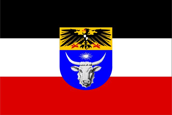 Les colonies allemandes : DEUTSCH SÜD-WEST AFRIKA Flagge10