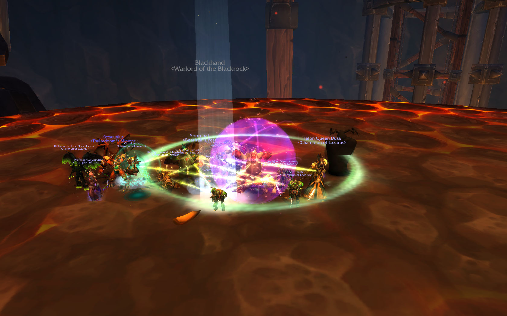 Finally done with HC Blackhand! Wowscr10
