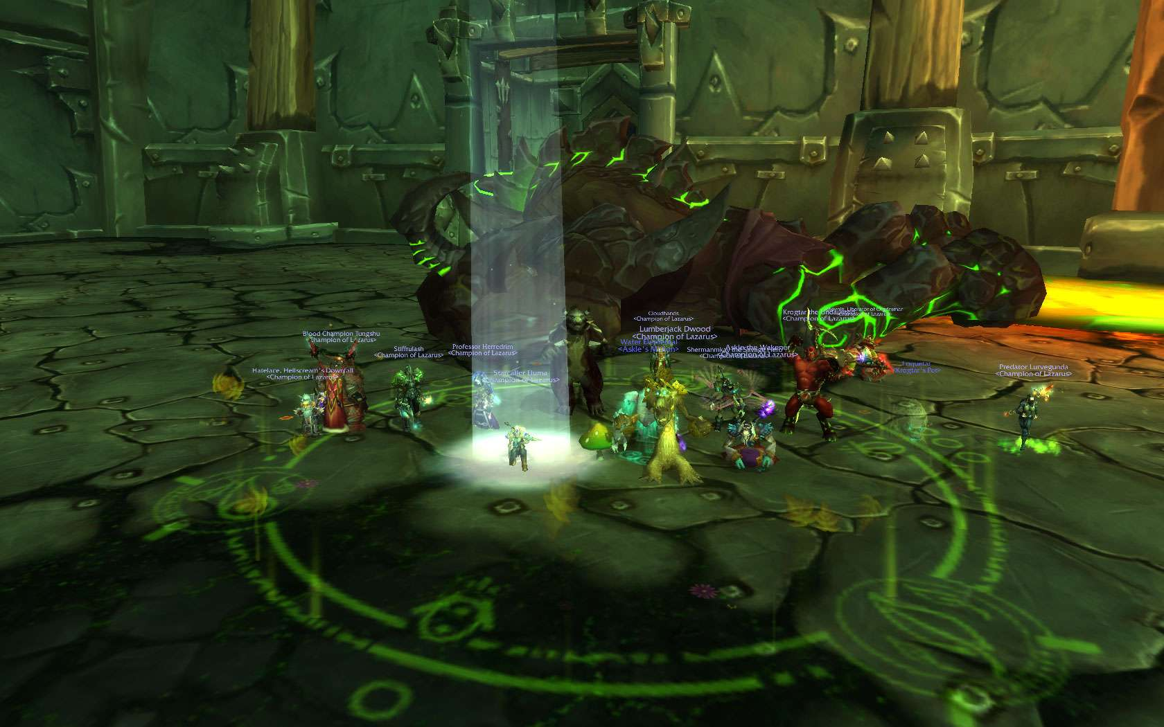 3 More HC Bosses (but only 2 pics :D ) Wowscr11