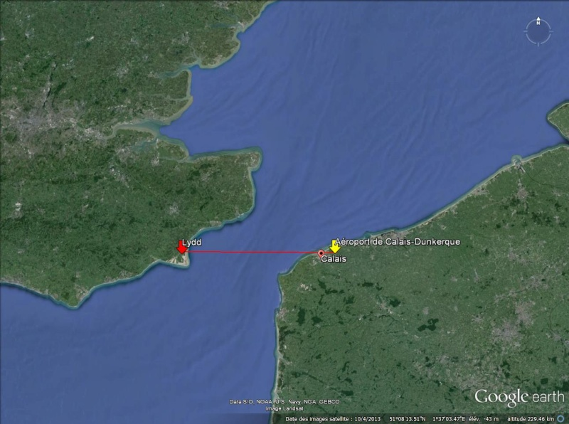E-Fan, l'avion électrique d'Airbus, a traversé la Manche Lydd-c10