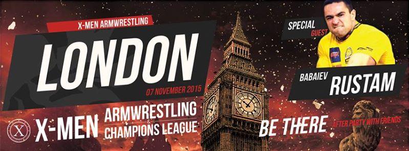 X-MEN ARMWRESTLING LONDON - 7th NOVEMBER 2015 99911