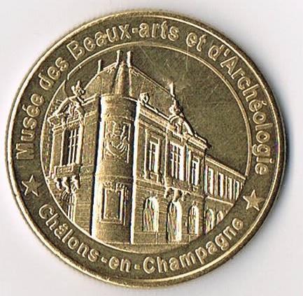 Médailles et Patrimoine  =  12 Mp_51_10